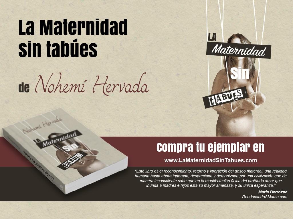 Libro la maternidad sin tabues