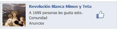 Revolucion Blanca Mimos y Teta