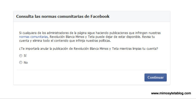 facebook censura foto