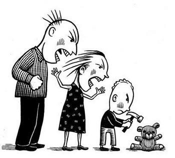 MALTRATO INFANTIL.GRITOS