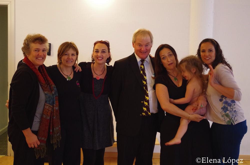 Equipo de Formación de  Asesoras Continuum con Jill y Nils Bergman