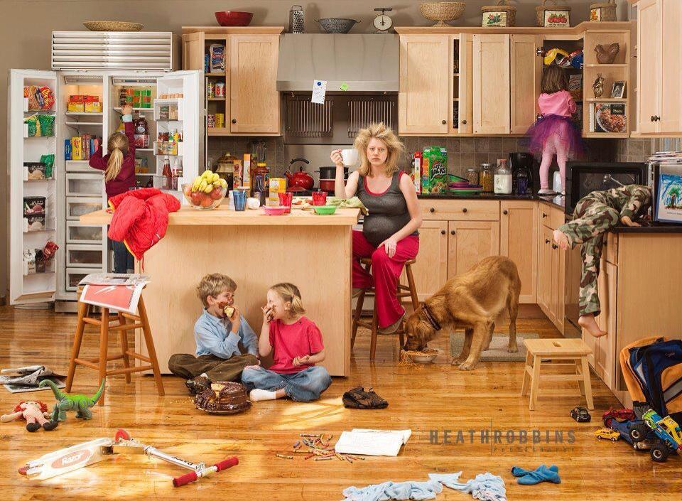 Ser madre y trabajar